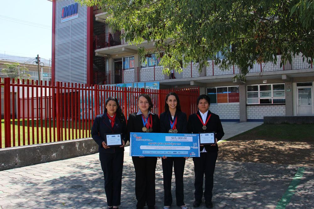 Alumnas del IMM participarán en feria de ciencias de China